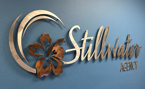Custom Metal Company Signs