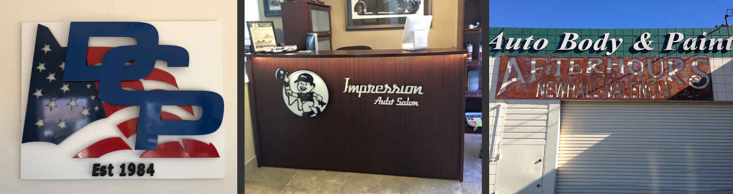 Custom Metal Business Signs