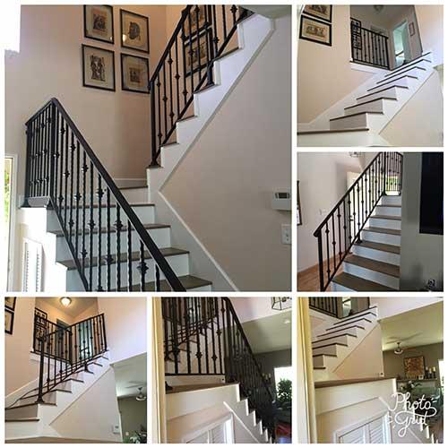 Custom Metal Staircase Railings