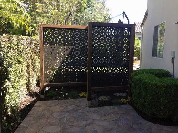 Decorative Wrought Iron Barriors