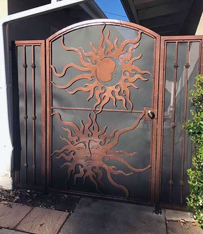 DecorativeWrought Iron Custom Gate