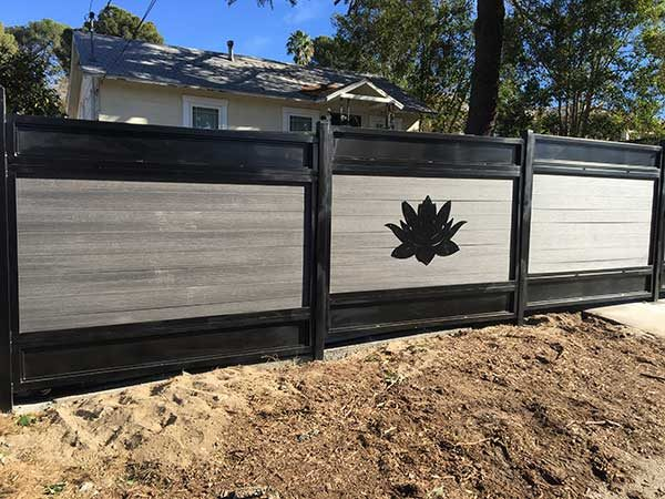 Decorative Custom Steel Fence