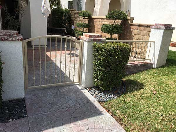 Low Height Steel Gate and Fence