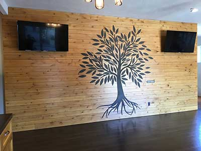Steel Tree Wall Decoration
