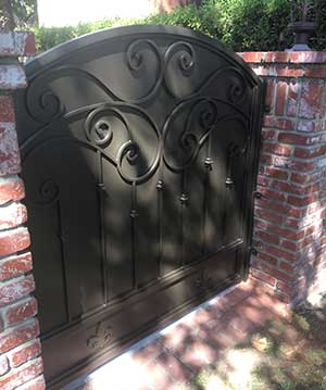 Custom Wrought Iron Gate